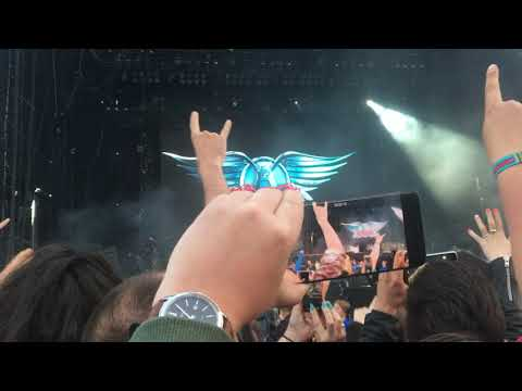 Aerosmith Download Festival 2017 Stage Entrance