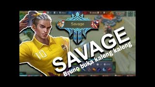 Download Mp3 Savage !!! Bruno Bukan Kaleng Kaleng Menuju Top