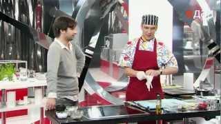 Филе говядины, маринованное с имбирём
