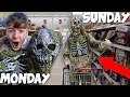 I Lived as a Zombie for an ENTIRE Week! *embarrassing...*