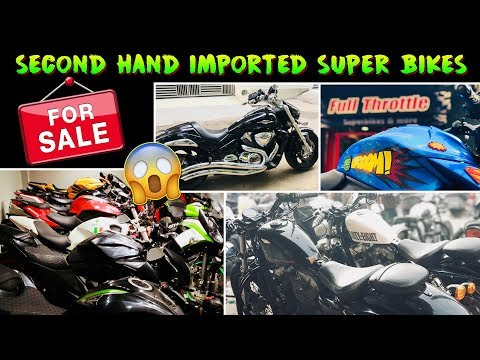 SECOND HAND SUPER BIKES FOR SALE, HARLEY, HAYABUSA, BENELLI,