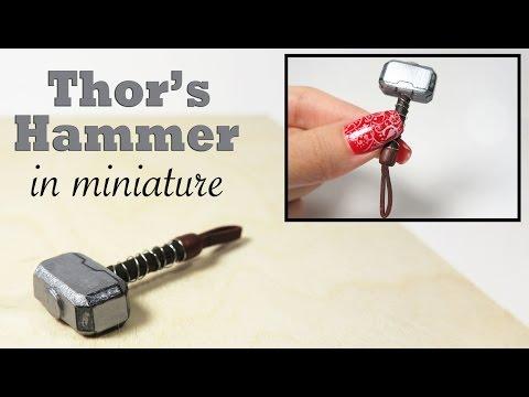 DIY Thors Hammer in Miniature