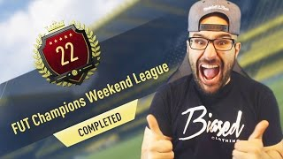 22nd IN THE WORLD, TOP 100 REWARDS WALKOUT! FUT CHAMPIONS REWARDS! FIFA 17 Pack Opening