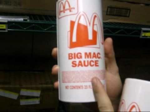 Found the Big Mac Sauce - YouTube
