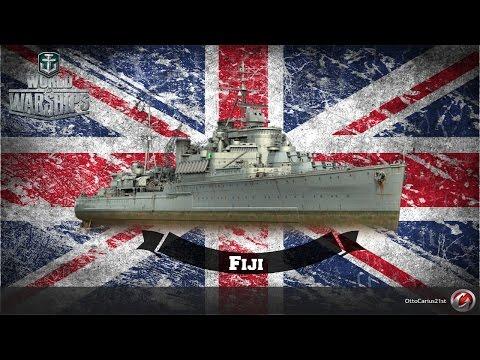 World of Warships - Fiji Battle Stations 100k+ damage | World of Warships - OttoCarius21st