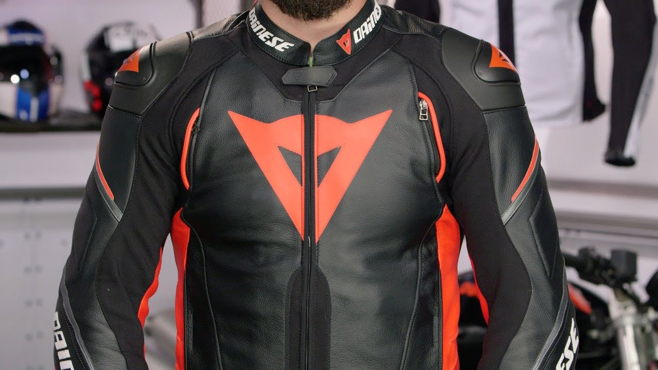 Dainese Super Speed D1 Leather Jacket Review At Revzilla Com Youtube
