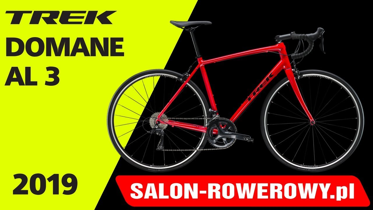 rower Trek Domane AL 3 2019 www salon-rowerowy pl