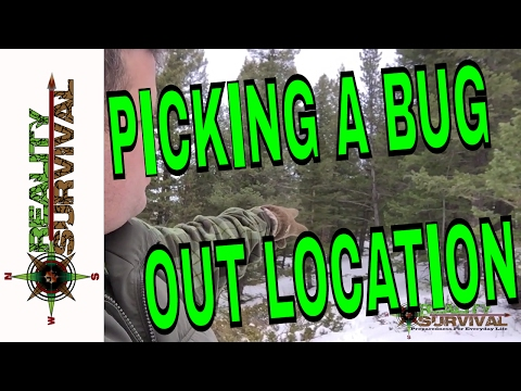Wilderness Survival Ramblings: Picking Out A Bug Out Location