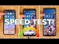 Speed Test: iPhone X vs. Pixel 2 XL vs. Note 8