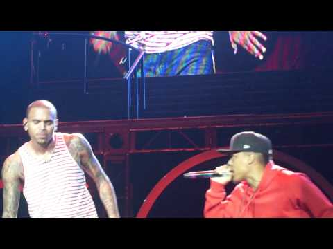 Chris Brown singing Ain't Thinkin Bout You (FAME tour 2011)