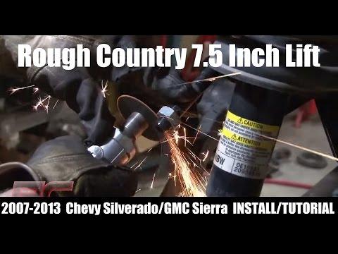 Rough Country 7.5 Inch Lift Kit for 2007-2013 Chevy Silverado / GMC Sierra - 264.20 - 264.22