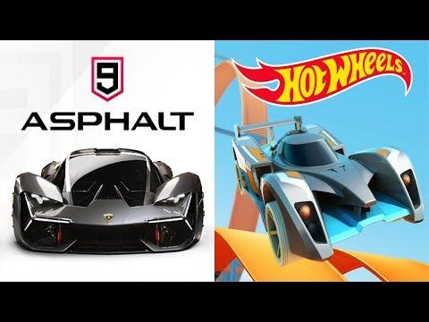 Asphalt 9: Legends Vs Hot Wheels: Race Off  