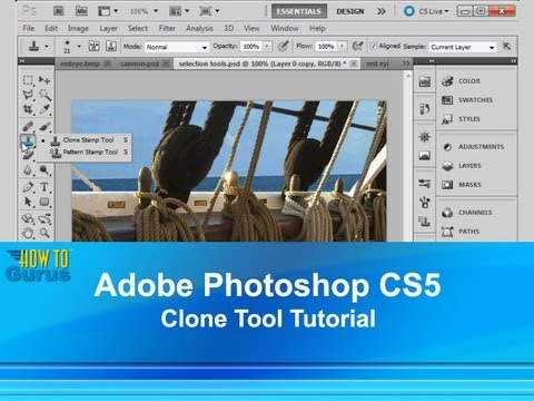 Photoshop Clone Stamp Tool - Media College