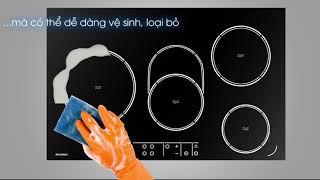 Review Bếp Điện Từ Cảm Ứng Âm Tường Số 1 RVEF74IN
