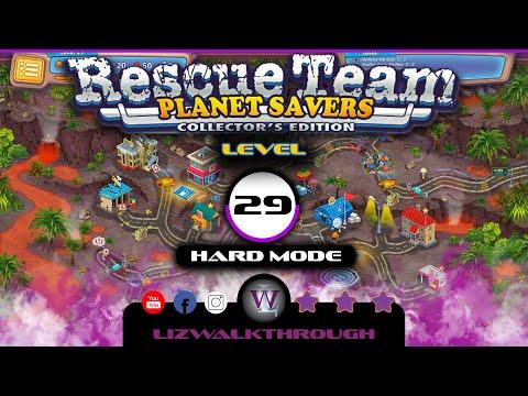 Rescue Team 11 - Level 29 Walkthrough (Planet Savers) |