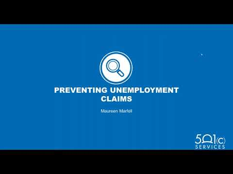 Controlling Unemployment Costs  Talent Management, Claims and Tax Options