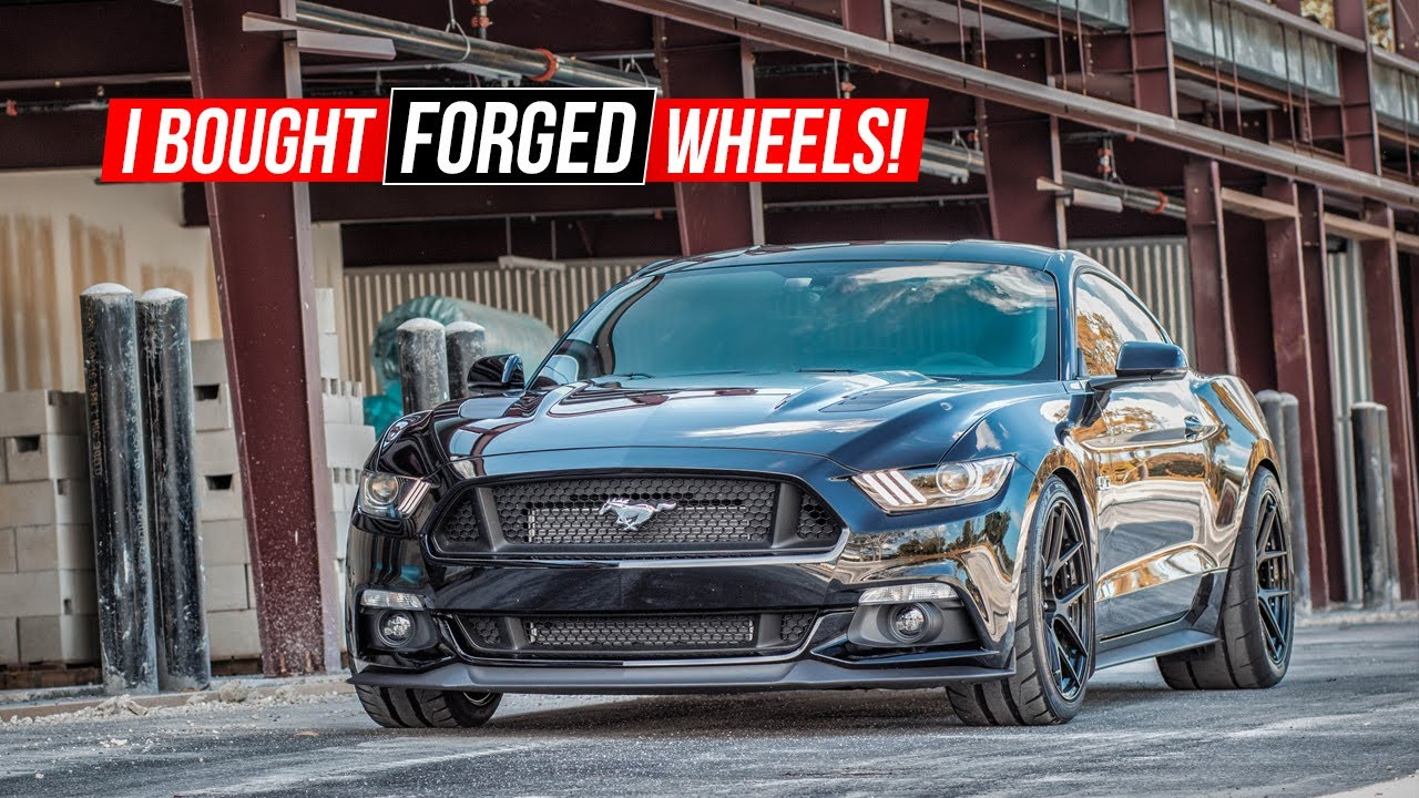2015 Mustang Wheels >> I BOUGHT FORGED WHEELS for my 825HP Whipple Supercharged 2016 Mustang GT! - YouTube