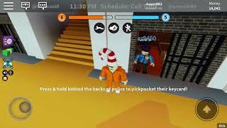 ROBLOX jailbreak prisoner vr cop