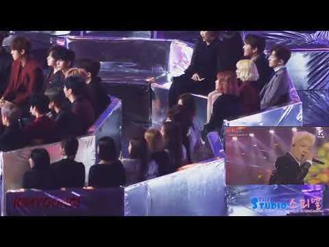 TWICE , IU Reaction To WINNER   REALLY REALLY Melon Music Awards 2017