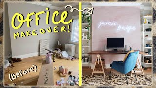 MY DREAM HOME OFFICE MAKEOVER! ?| Jamie Paige