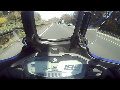 Yamaha Tracer  Topspeed Autobahn