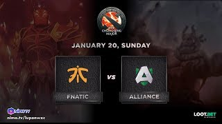 Fnatic vs Alliance Game 1 (BO3) The Chonqing Major GroupStage