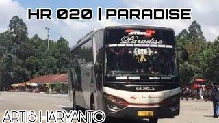 KACAU!!! Adu Telolet BUS ARTIS | HR 20 aka Paradise, HR 02 aka Tsalju, dll