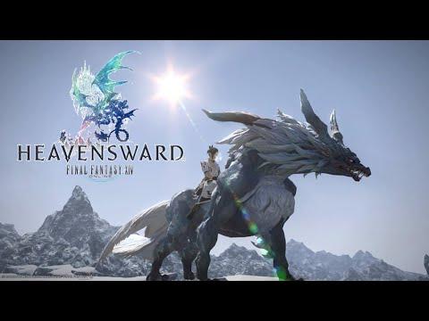 Final Fantasy XIV: Heavensward - Fenrir Mount Obtained ...