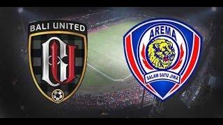 Bali United 2 - 2 Arema Cronus - Torabika Soccer Championship 2016   03 Desember 2016