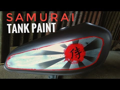 Hand Painted Custom Painting Motorcycle Tank