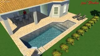 Taylor Morrison Homes Esplanade @ Artisan Lakes Lot 159 Pool Concept 2