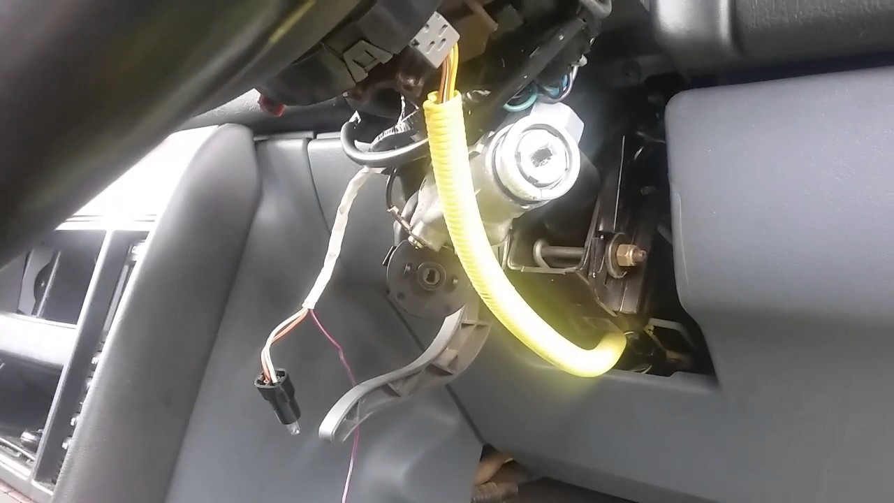 hight resolution of vs commodore ignition barrel removal