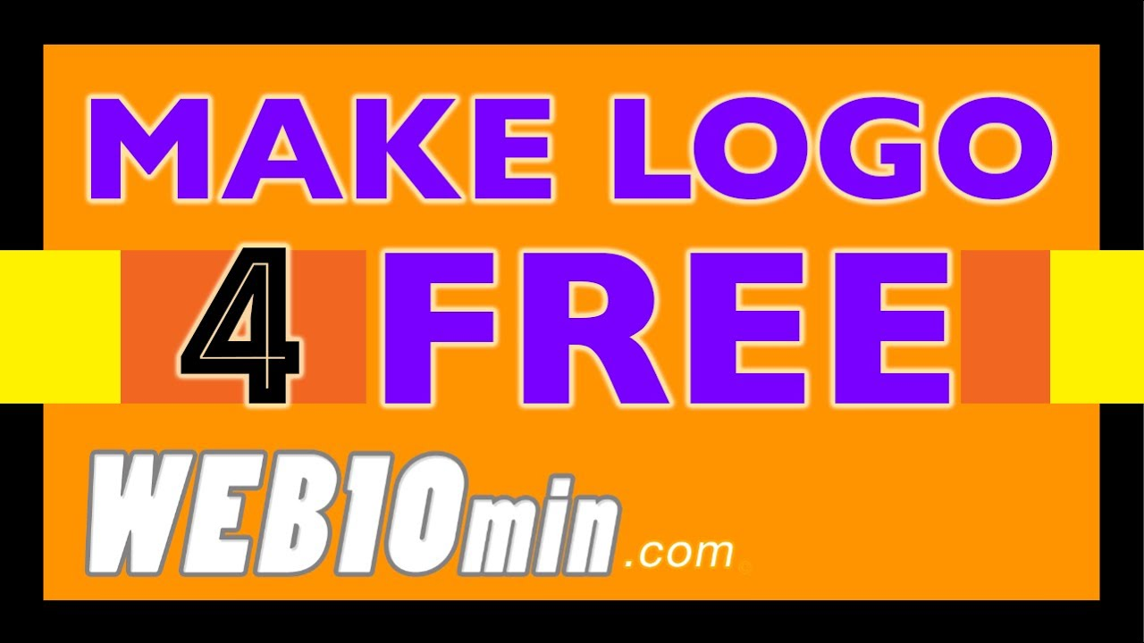 ... To Make a Logo - In 10 Minutes - For My Business - For Free - YouTube