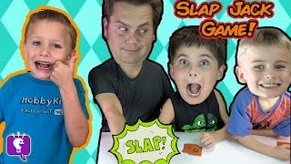 SLAP JACK Card Game with HobbyKidsTV