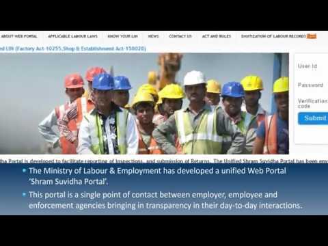 Shram Suvidha || Ministry of labour & Employement