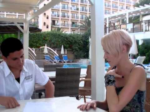 Emma Hewitt in Cyprus Interviewed for OnThisIsland.com