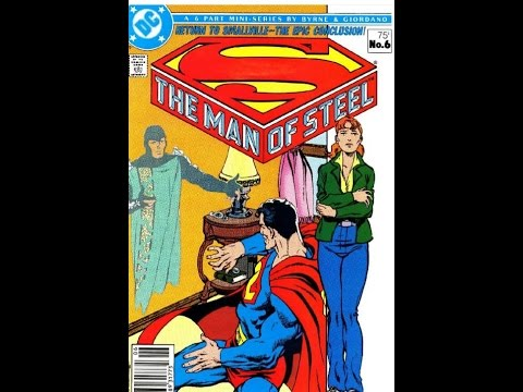 John Byrne Superman Man of Steel Part 3 | The Comic Vault