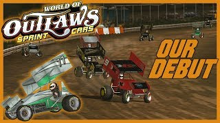 World of Outlaws Sprint Cars [Xbox 360] Career Mode | Our Debut in Volusia!