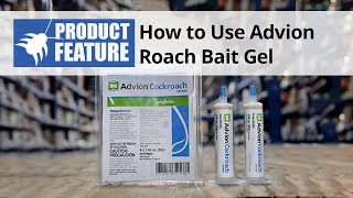 How to Use Advion Roach Bait Gel