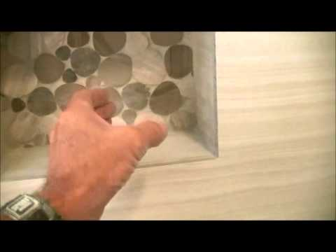 Rock Tile In Shower Fake Rock Though YouTube - Fake rock flooring