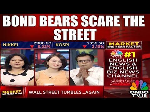 Bond Bears Scare The Street | Wall Street Plummets | 9th Feb 2018 | CNBC TV18
