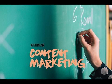 WEBINAR: Content Marketing