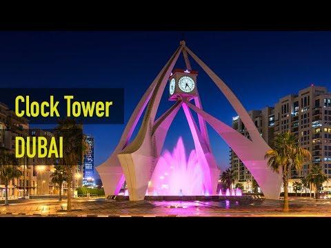 Amazing Clock Tower Deira Dubai UAE