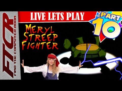 """'Teenage Mutant Ninja Turtles' (2003) Let's Play - Part 10: """"Meryl Streep Fighter!'"""