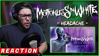 "OHRION REACTS to Motionless In White - ""Headache"""