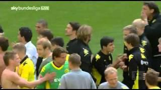 Borussia Dortmund - Nürnberg Nach den Spiel