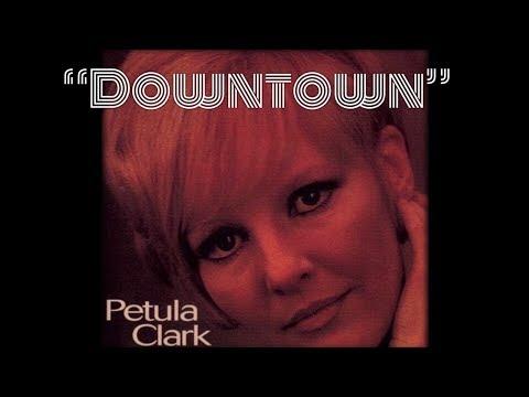 Downtown (w/lyrics)  ~  Petula Clark