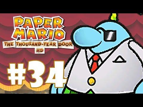 PAPER MARIO THE THOUSAND-YEAR DOOR #34 - O SUCESSOR DA MÁFIA