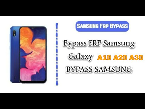SAMSUNG Galaxy A10/A20/A30 FRP/Google Lock Bypass Android 9 WITHOUT PC | NO TALKBACK 2019
