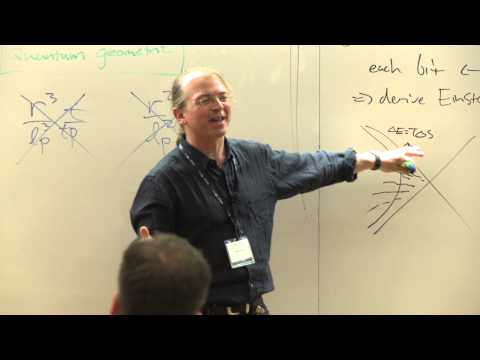 Deriving general relativity from quantum measurement - Seth Lloyd